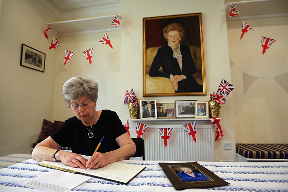 Dan Kitwood「Reaction Around The World To The News Of The Death Of The Former British Prime Minister Margaret Thatcher」:写真・画像(14)[壁紙.com]