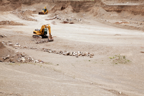 Road Construction「Excavator and dozer」:スマホ壁紙(15)