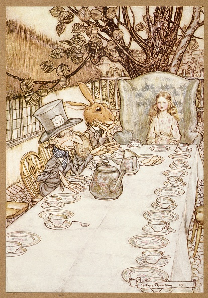 Teapot「A Mad Tea Party」:写真・画像(6)[壁紙.com]
