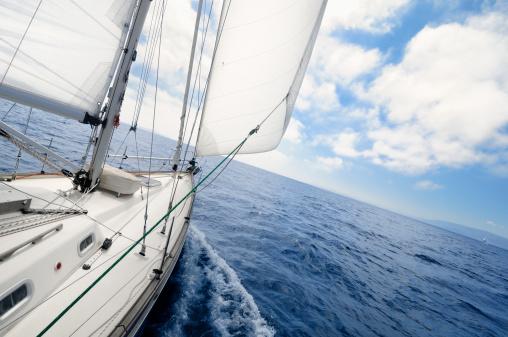 Eco Tourism「Sailing towards the horizon」:スマホ壁紙(14)