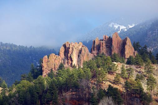Rolling Landscape「First Light on Boulder Colorado Red Rocks」:スマホ壁紙(10)