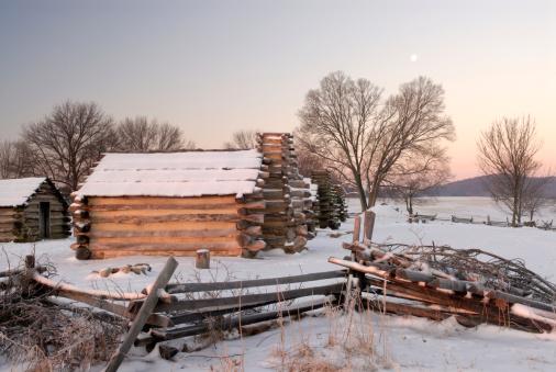 Pennsylvania「First Light on Cabins」:スマホ壁紙(1)