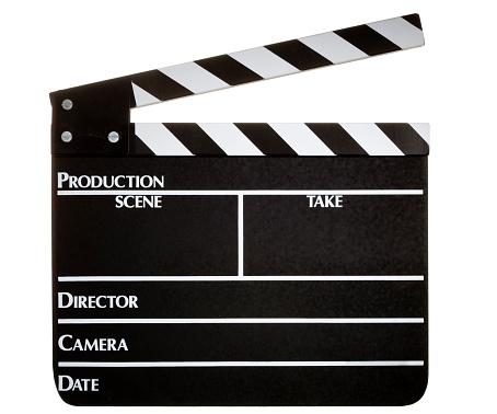 グラミー賞「Clapperboard 白背景」:スマホ壁紙(2)