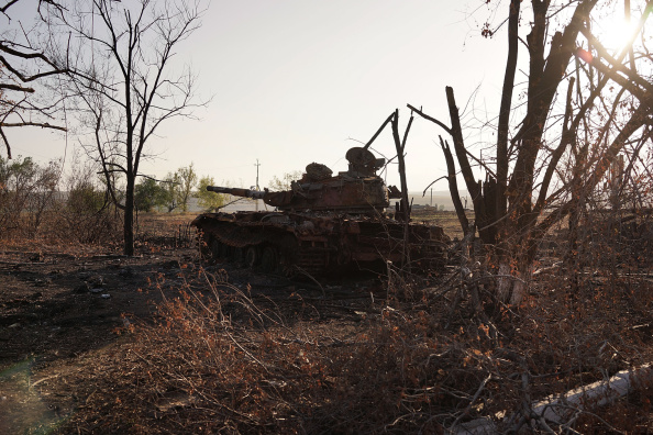 2014 Russian Military Intervention in Ukraine「Pro-Russian Separatists Control Eastern Ukraine City Of Lugansk」:写真・画像(0)[壁紙.com]