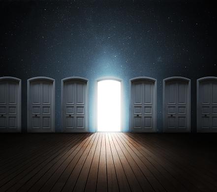 Choice「Door opened light」:スマホ壁紙(14)