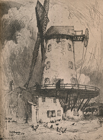 Physical Geography「'The Mill in the Wirral', c1900」:写真・画像(16)[壁紙.com]