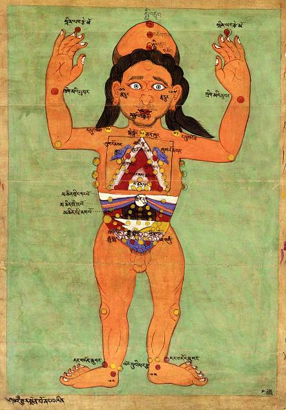 Tibet「Bloodletting Points on the Human Body」:写真・画像(17)[壁紙.com]