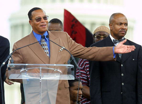 Hand「Louis Farrakhan Speaks at Slave Reparations Rally」:写真・画像(7)[壁紙.com]