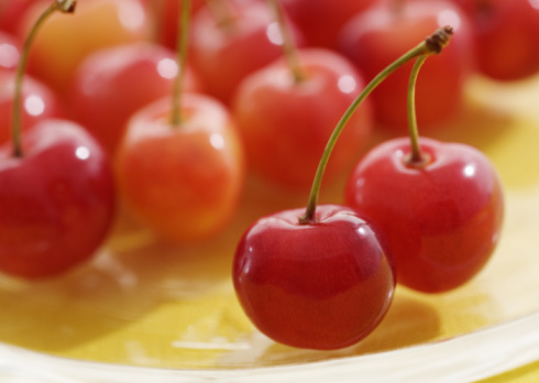 サクランボ「Cherry」:スマホ壁紙(12)