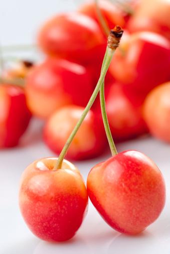サクランボ「Cherry」:スマホ壁紙(19)