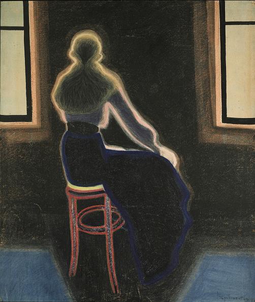Painting - Activity「Jeune Femme Sur Un Tabouret」:写真・画像(6)[壁紙.com]