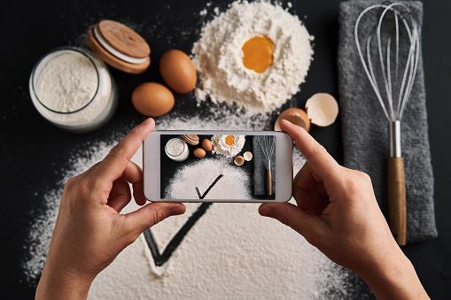 Food Styling「Cake preparing」:スマホ壁紙(14)