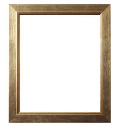 Surrounding「Brushed Gold Picture Frame」:スマホ壁紙(15)