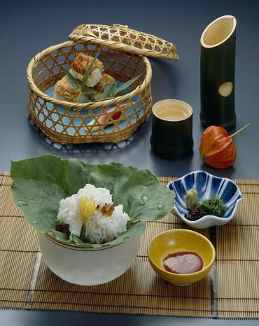 Sake「Boiled saltwater eel and eel sushi with sake」:スマホ壁紙(7)