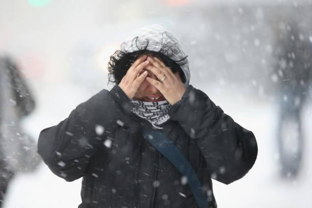 Winter Storm Dumps More Snow On New York City:ニュース(壁紙.com)