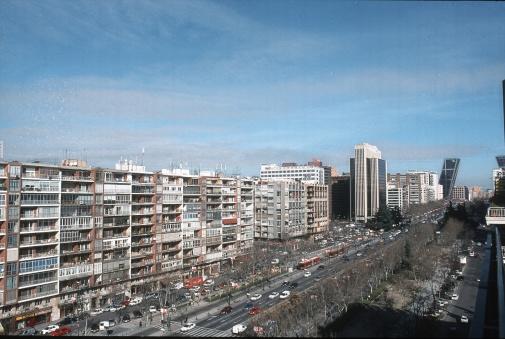 Ferrari「Madrid in the sixties. Castellana avenue.」:スマホ壁紙(3)