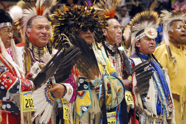 Phillippe Diederich「Gathering Of Nations Powow Held In Albuquerque」:写真・画像(2)[壁紙.com]