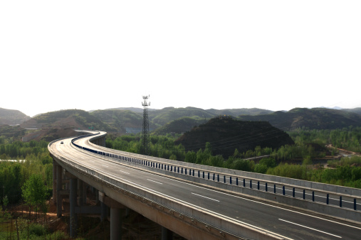 Winding Road「Expressway,Henan,China」:スマホ壁紙(19)