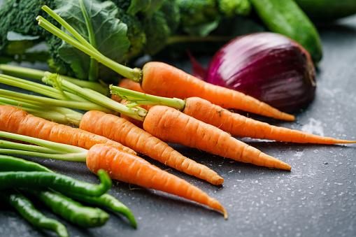Carrot「Mixed fruit」:スマホ壁紙(12)