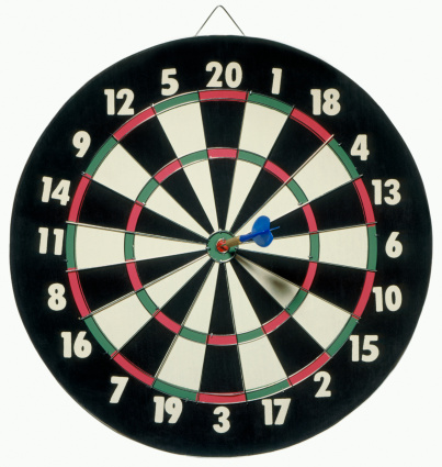 Sports Target「Dartboard bull's eye」:スマホ壁紙(2)