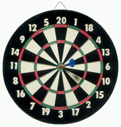 Playing「Dartboard bull's eye」:スマホ壁紙(3)