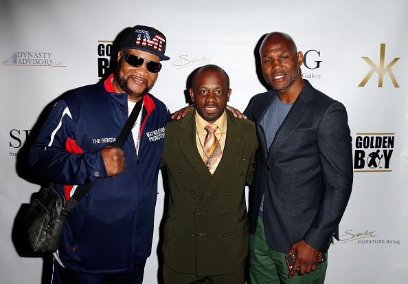 Bernard Hopkins「Smile Design Gallery & Bernard Hopkins Present: The Art of Boxing」:写真・画像(12)[壁紙.com]