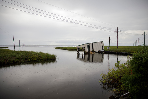 View Into Land「Combination Of Rising Sea Levels And Subsiding Land Endanger Louisiana Coast」:写真・画像(1)[壁紙.com]