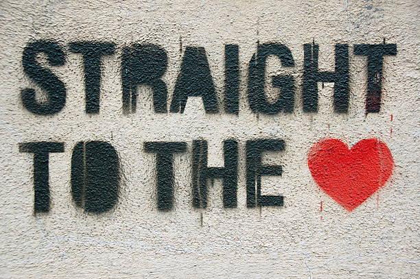 Straight to the heart graffiti:スマホ壁紙(壁紙.com)