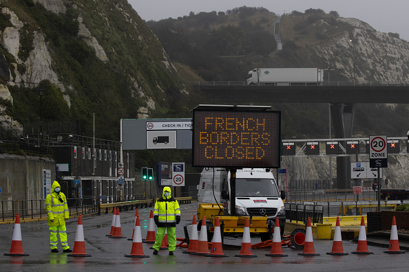 Kent - England「French Halt Arrivals From UK Over Covid-19 Worries」:写真・画像(6)[壁紙.com]