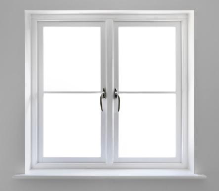 対称「ダブルホワイトの窓、クリッピングパス」:スマホ壁紙(2)