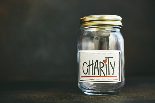 Community Outreach「Charity and donation theme. Fundraising concept, empty jar」:スマホ壁紙(15)