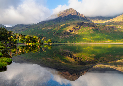 Standing Water「Buttermere In The English Lake District」:スマホ壁紙(2)