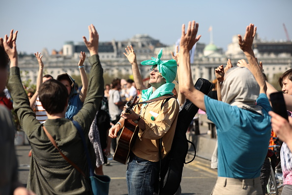 Musical instrument「Extinction Rebellion Protests Continue Over The Easter Bank Holiday」:写真・画像(2)[壁紙.com]