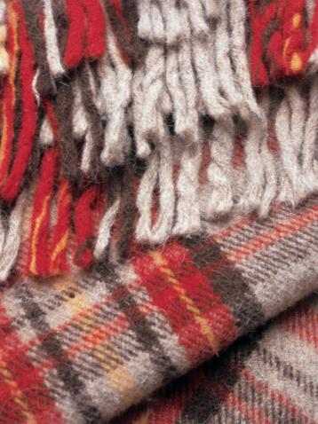 タータンチェック「Wool scarf, close-up」:スマホ壁紙(8)