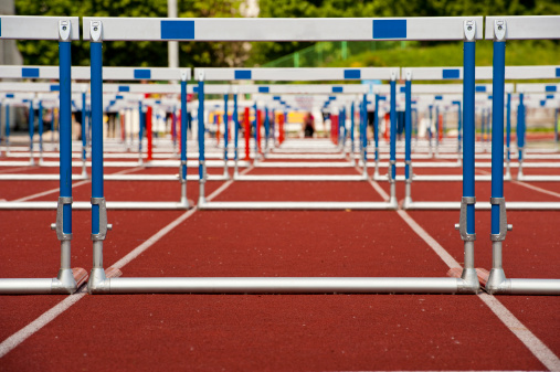 Hurdle「Hurdles ready for race」:スマホ壁紙(3)