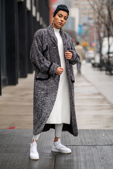 Sports Shoe「Street Style - Day 1 - New York Fashion Week February 2020」:写真・画像(14)[壁紙.com]