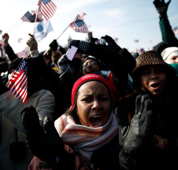 Robert Nickelsberg「Barack Obama Is Sworn In As 44th President Of The United States」:写真・画像(4)[壁紙.com]