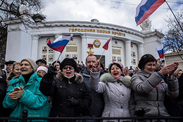 Russia「First Anniversary Of The Referendum Which Annexed The Crimea To Russia」:写真・画像(2)[壁紙.com]