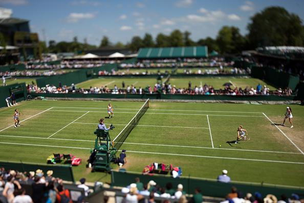 アナスタシア パブリュチェンコワ「Wimbledon Tennis Championship - Day Six」:写真・画像(4)[壁紙.com]