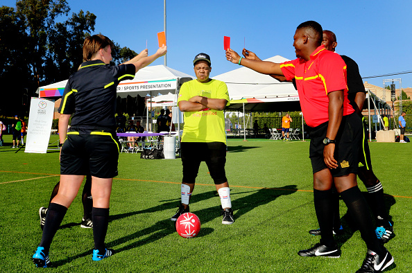 Sports Official「Starkey Hearing Foundation Ambassadors Kyle And Chris Massey Participate In The Special Olympics Unified Sports Experience Football Game」:写真・画像(18)[壁紙.com]