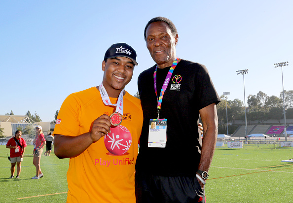 Medalist「Starkey Hearing Foundation Ambassadors Kyle And Chris Massey Participate In The Special Olympics Unified Sports Experience Football Game」:写真・画像(9)[壁紙.com]