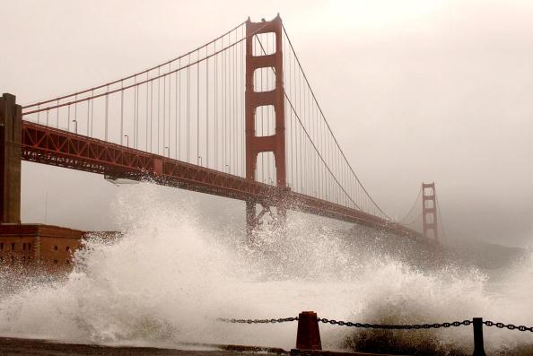 Bridge - Built Structure「Severe Storm Hits Northern California」:写真・画像(14)[壁紙.com]