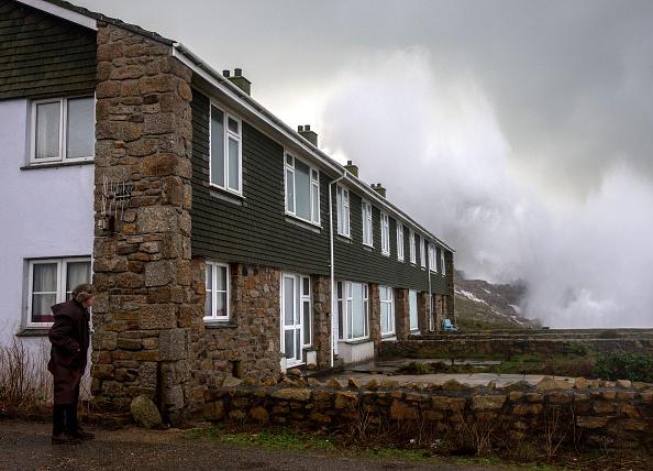 Lands End - Cornwall「Storm Imogen Sweeps The South Of England」:写真・画像(14)[壁紙.com]