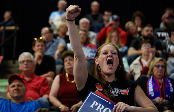 """MAGA「Donald Trump Holds """"Make America Great Again"""" Rally In West Virginia」:写真・画像(9)[壁紙.com]"""