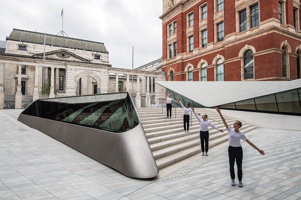 Courtyard「The V&A Museum Preview Their New Porcelain Courtyard」:写真・画像(0)[壁紙.com]