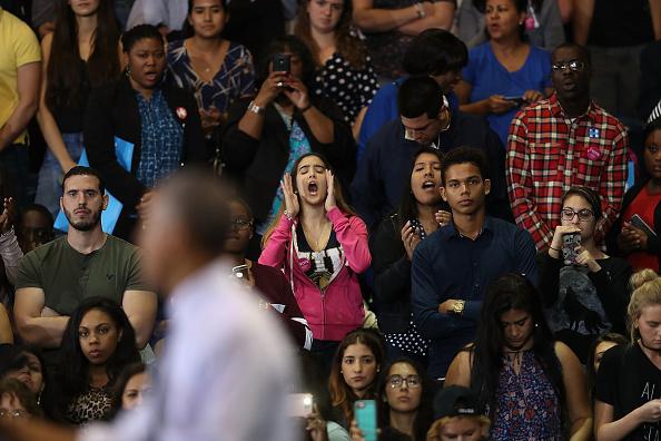 Florida International University「President Obama Attends Early Voting Rally In Miami」:写真・画像(18)[壁紙.com]