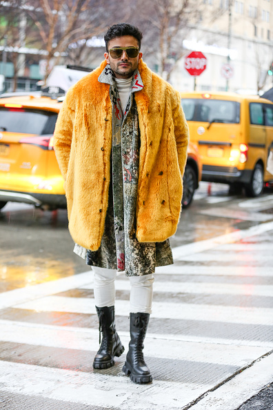 Chelsea Piers「Street Style - Day 5 - New York Fashion Week February 2020」:写真・画像(18)[壁紙.com]