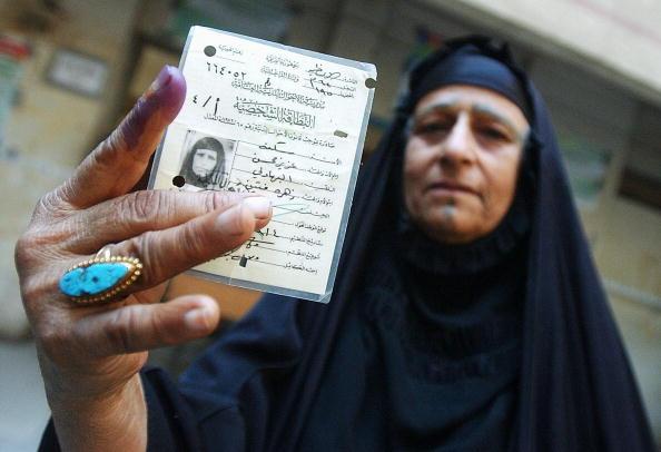Sadr City「Iraqis Go To The Polls For Parliamentary Elections」:写真・画像(13)[壁紙.com]