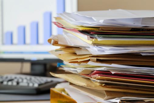 Problems「paperwork」:スマホ壁紙(13)