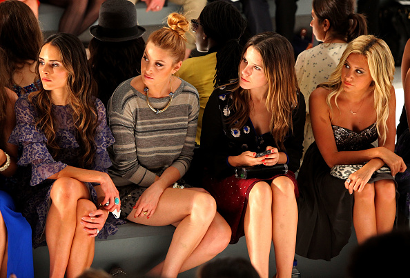Spring Collection「Rebecca Taylor - Front Row - Spring 2012 Mercedes-Benz Fashion Week」:写真・画像(12)[壁紙.com]